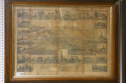 ONLINE ONLY – ANTIQUES; FURNITURE; LOCAL MAPS & MORE